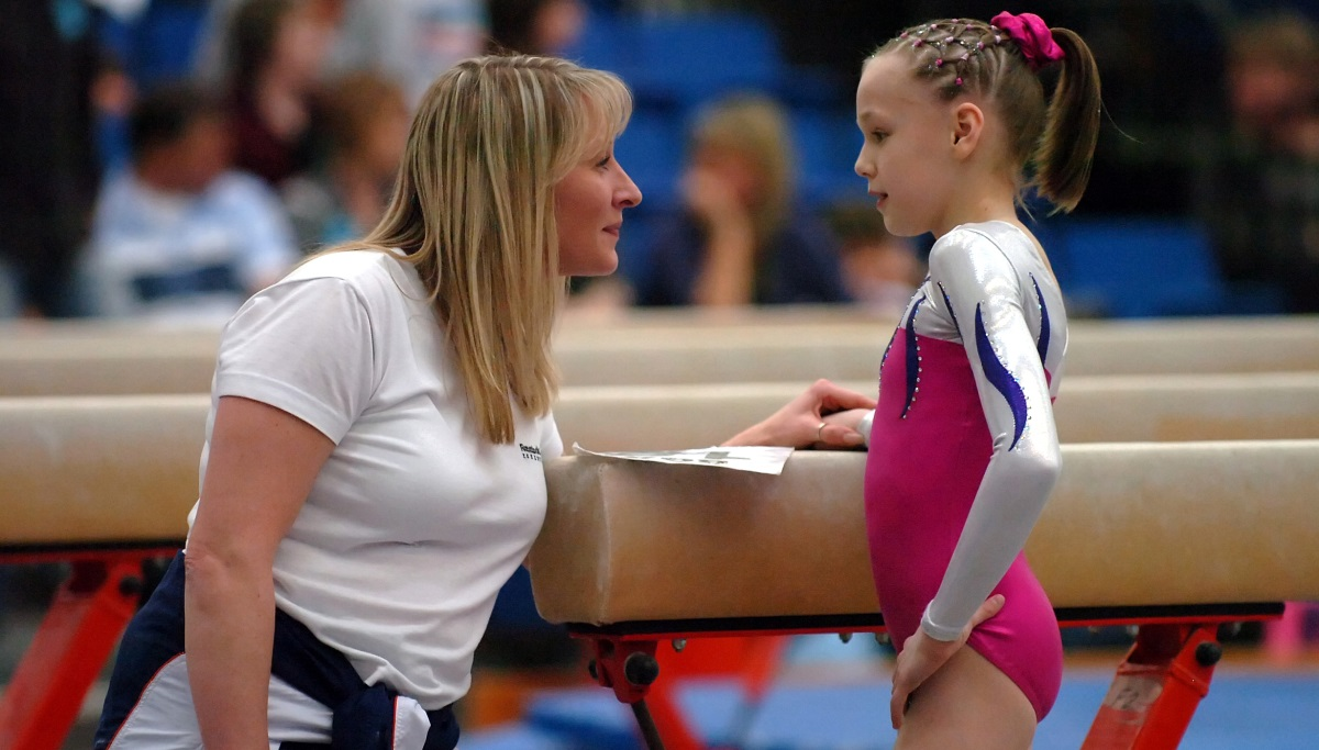 One-to-one between coach and gymnast